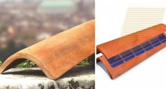 I pannelli fotovoltaici sono antiestetici? Arrivano i coppi che producono energia elettrica