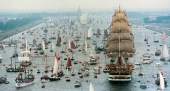 Ad Amsterdam la nautica dà spettacolo con la regata più grande del mondo