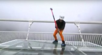 Is the world's highest glass-bottomed suspension bridge --- really safe?