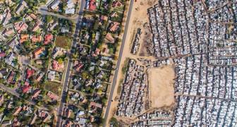 Richesse contre pauvreté: un drone réussit à illustrer la terrible réalité
