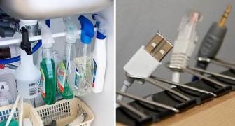 31 astuces à utiliser de suite pour avoir une maison beaucoup plus organisée