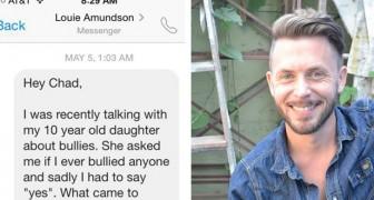 Veniva pesantemente bullizzato dai compagni, ma 20 anni dopo riceve un messaggio inaspettato