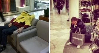 20 Hilarische Foto's Die Perfect De Tragiek Van Het Shoppen Weergeven… Gezien Vanuit Mannelijk Perspectief!