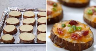 Provate questo aperitivo a base di patate: è squisito e si prepara praticamente da solo