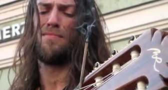 Una melodia emozionante, un chitarrista fantastico