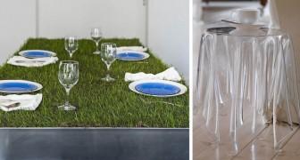 Ecco alcuni dei tavoli più originali che l'uomo sia riuscito ad immaginare e creare
