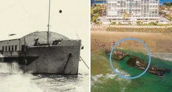 Ce navire s'est échoué dans les années 30 mais personne ne l'a réclamé. La raison est... scandaleuse