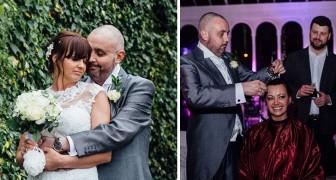 Durante il matrimonio, lo sposo taglia tutti i capelli della sposa: ecco un gesto d'amore esemplare