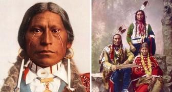 Gli sguardi fieri dei nativi americani in 15 stupende immagini di fine 800 colorate a mano