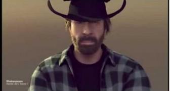 Parodie Van Damme - Chuck Norris