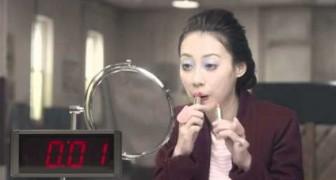 Wie schminkt man sich in 10 Sekunden?