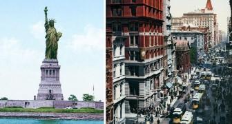 De 19e eeuw nu in kleur: Hier zie je hoe het New York van nu in de kinderschoenen heeft gestaan