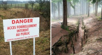 Die französische rote Zone, ein quasi unbekannter Ort zu dem der Zutritt seit einem Jahrhundert verboten ist