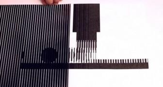 Increible ilusion òptica animada
