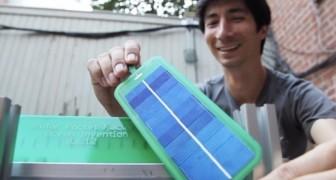 Ecco l'invenzione che permette di creare pannelli solari... nel proprio giardino di casa!