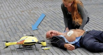 Redden binnen een recordtijd: het project van de drone - Ambulance voor hartaanval slachtoffers