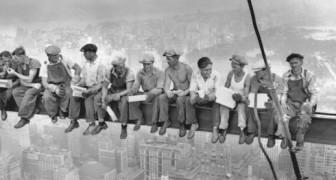 Het verhaal van Lunch bovenop een wolkenkrabber, een van de beroemdste foto's ter wereld
