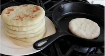 Pita hecha en casa: esta es la receta para preparar el pan arabe en toda su sencillez!
