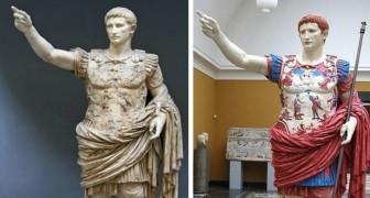 Le vere sembianze dei marmi classici: ecco come apparivano realmente in passato le statue antiche