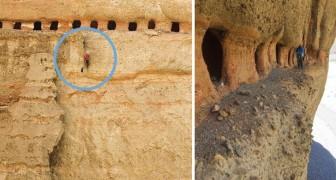 """Die mysteriösen """"Höhlen des Himmels"""": quasi unzugängliche Galerien, die immernoch viele Geheimnisse hüten"""