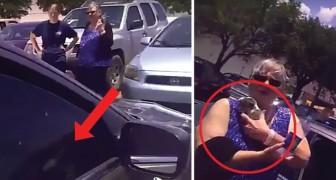 Hij ontdekt een pup in een auto in de volle zon en besluit op een drastische manier in te grijpen: wat vind jij hier van?