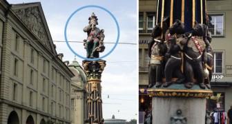 Da secoli questa fontana terrorizza i bambini di Berna, ma il suo significato resta un mistero