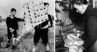 Quando i soldi erano carta straccia: le incredibili immagini del tracollo tedesco del 1923