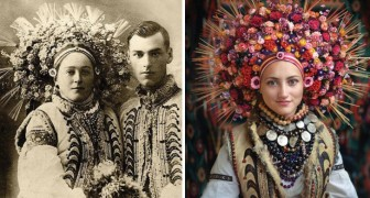 De vieilles photos de femmes ukrainiennes ont été retrouvées et recrées: le résultat est merveilleux