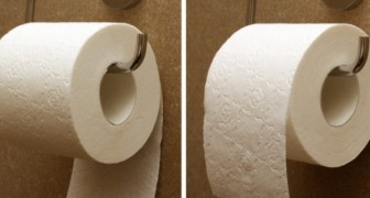 Le bon sens du papier toilette est tourné vers la pièce et non vers le mur : l'inventeur nous l'explique en personne