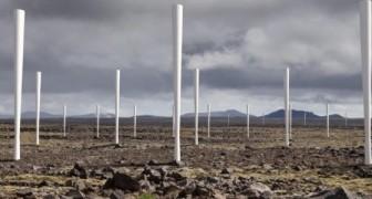L'éolienne du futur? Elle produit de l'électricité, mais elle n'a pas de pales