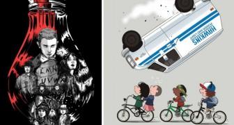 Stranger Things: gli omaggi degli illustratori alla serie televisiva più amata dell'estate