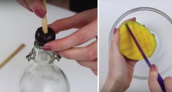Ecco a voi 6 trucchetti ingegnosi per sbucciare la frutta velocemente e senza sprechi