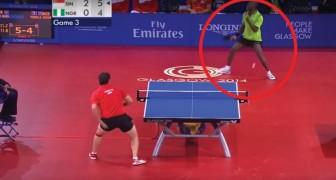 41 golpes en 40 segundos: el intercambio en este match de ping pong es PARA NO PERDERSELO1
