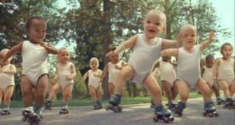 Evian Baby Dance Spot