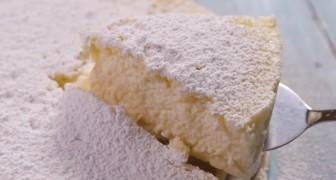 Cheesecake avec seulement 3 ingrédients et SANS FARINE: la bonté ... en toute simplicité!
