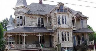 Questa casa inabitabile del 1887 è stata riportata alla sua vecchia gloria grazie ad un restauro magistrale
