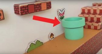 Lo riconoscete? È lo sfondo del videogioco più famoso. Ma a spuntare dal tubo non è Super Mario!