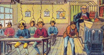 Chiedono ad alcuni illustratori del 1900 di immaginare l'uomo nel 2000: il risultato è affascinante