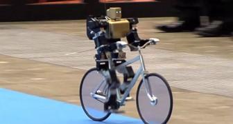 L'abilità e l'equilibrio di questo robot sono oltre ogni immaginazione