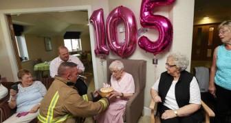 Un sogno diventa realtà: ciò che ha chiesto questa donna per i 105 anni ti farà sorridere