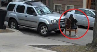 Estaciona em lugar proibido: um homem resolver dar uma lição exemplar ao motorista!