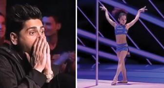 8 Jahre und eine außergewöhnliche Performance: die akrobatische Darbietung dieses Mädchens verblüfft alle!