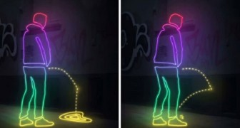 You need to pee and you do it on a street wall? --- Look what happens in Germany!