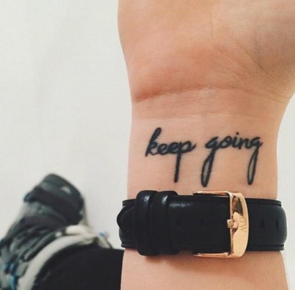 Kleine Onopvallende Tattoos Die Een Eenvoudige Maar Belangrijke