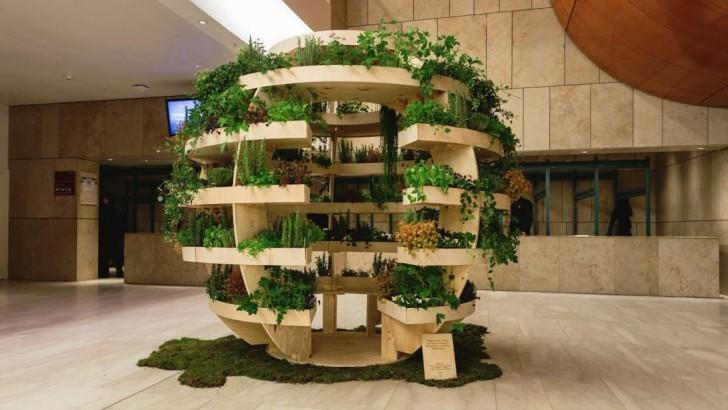 Moestuin Zelf Maken : Architecten maken een doe het zelf tuin die een heel