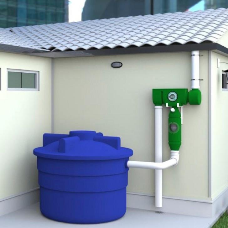 Eine Gruppe Der Firma Idees Sostenibile Mit Sitz In Brasilien Hat Sich  Genau Dies Vorgenommen Und Ein System Entwickelt, Das Regenwasser In  Trinkwasser ...