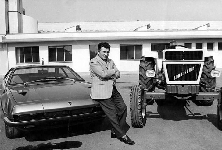 Der Sportwagen Lamborghini Entstand Weil Enzo Ferrari Einen Traktorproduzenten Beleidigte Curioctopus De