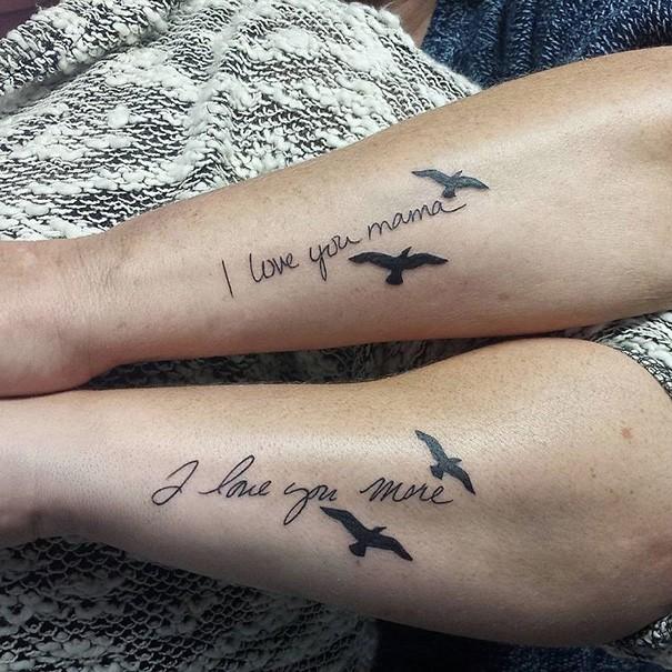 30 Bellissimi Tatuaggi Per Madre E Figlia Che Celebrano Questo