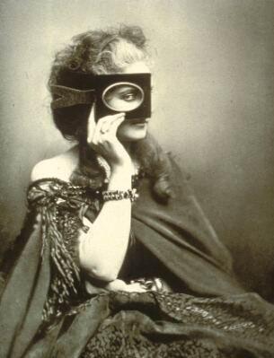 Mysteriöse Frau