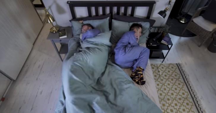 ikea cr e la couette qui met fin aux disputes li es au vol de la couverture. Black Bedroom Furniture Sets. Home Design Ideas
